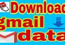 gmail data download