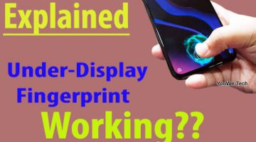 Under Display Fingerprint kaise work karta hai? 2020