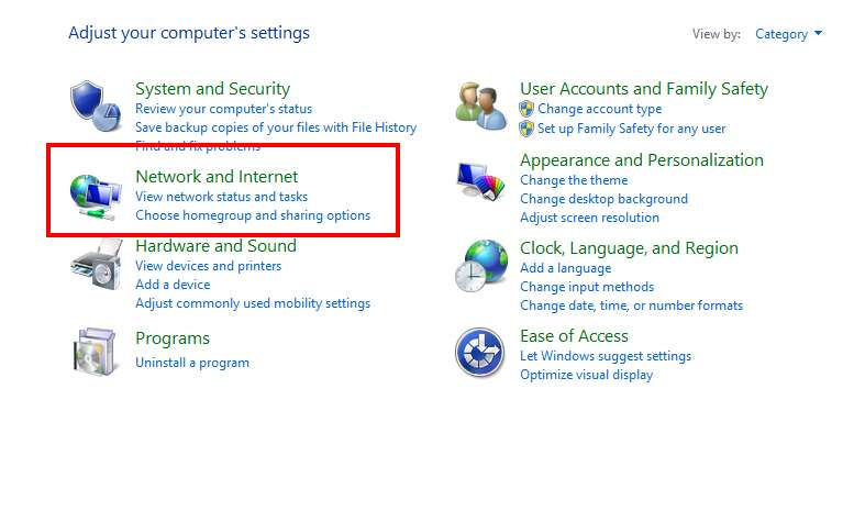 Enable and Disable DHCP on Windows 8