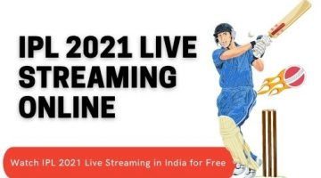 IPL 2021 Live Streaming Online | Watch IPL 2021 Live Streaming in India for Free