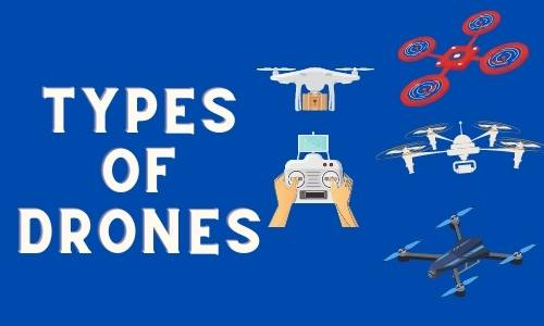 Types of Drones | Types Of Civil and Military