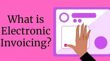 What is electronic invoicing?